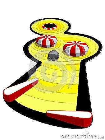 Free Pinball Machine Royalty Free Stock Photo - 5459715