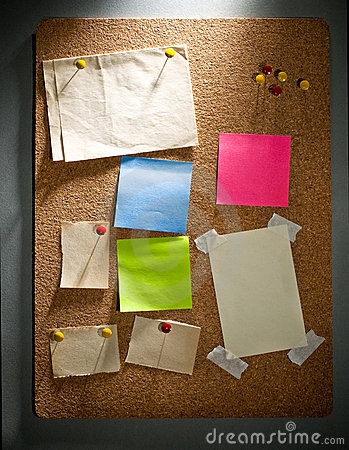 Pinboard notes background