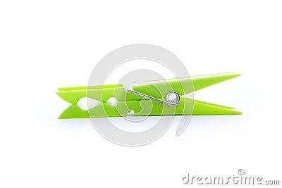 pince 224 linge verte photo libre de droits image 16999945