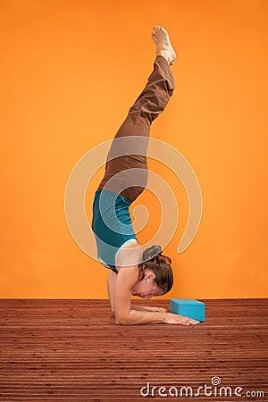 Pincha Mayurasana Yoga Pose