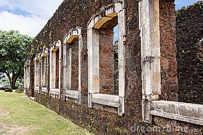 Pindare Baron Palace Ruins