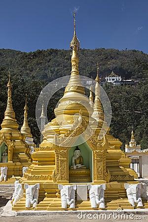Pindaya Temple - Pindaya - Myanmar (Burma)