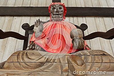 Pindola god statue