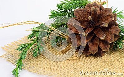 Pine-cone ornament