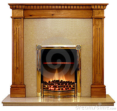Free Pine Fire Surround Stock Photos - 146733