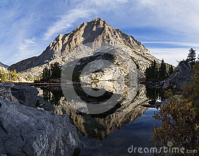 Pine Lake Mountain Reflection