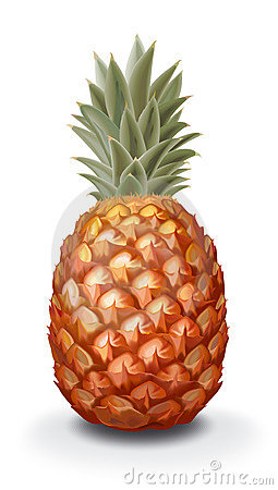 Free Pineapple Royalty Free Stock Photos - 7387188