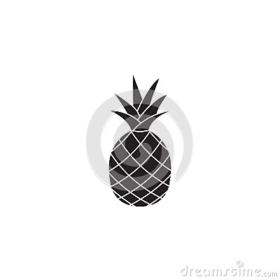 Free Pineapple And Ananas Soldi Icon, Healthy Fruit Stock Image - 94448751