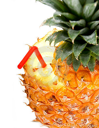 Free Pineapple Drink Royalty Free Stock Photo - 9225005
