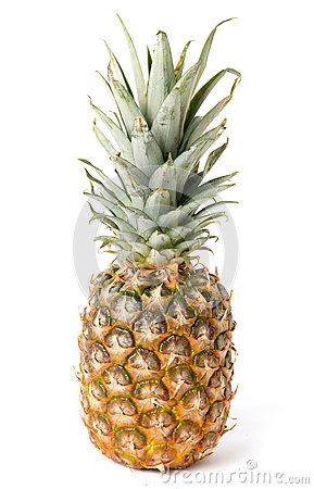 Free Pineapple Fruit Isolated On White Background Stock Images - 87536934