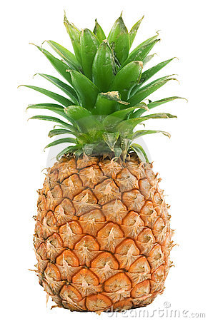 Free Pineapple Isolated Royalty Free Stock Photos - 3035098