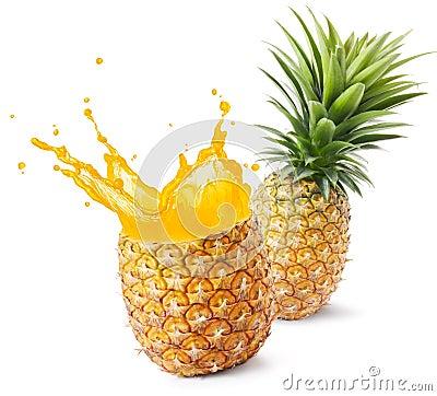 Free Pineapple Juice Stock Photos - 42561563