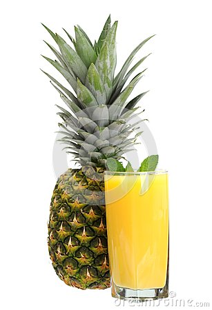 Pineapple and juice