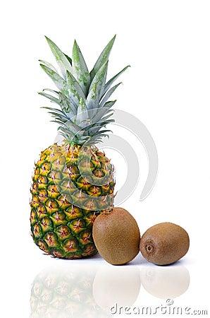 Pineapple and Kiwis