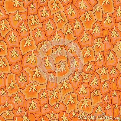 Free Pineapple Skin Seamless Pattern Stock Photo - 47552250