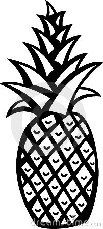 Free Pineapple Vector Illustration Stock Photography - 2591522