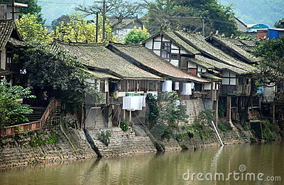 Ping Le, China: Old River Houses