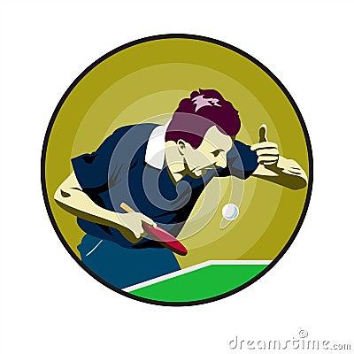 Ping-pong.