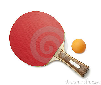 Ping pong Isolated
