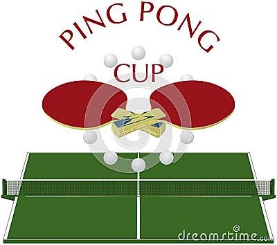 Ping pong - logo