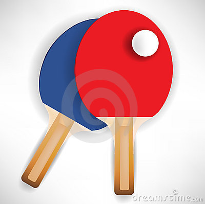 Ping pong rockets with ball