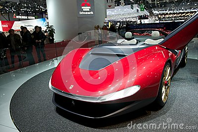 Pininfarina Ferrari Sergio 2014 Editorial Stock Photo