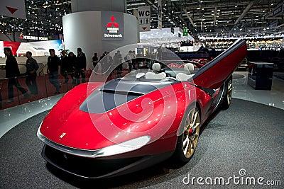 Pininfarina Ferrari Sergio 2014 Editorial Stock Image