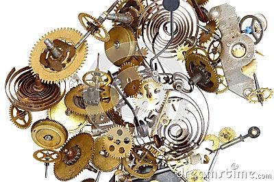 Pinions - clockwork mechanism