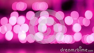 Pink Abstract, fond sonore de la lumière provenant de la lanterne thaïlandaise de lanna la nuit Concepts de la célébration au Yi  illustration libre de droits