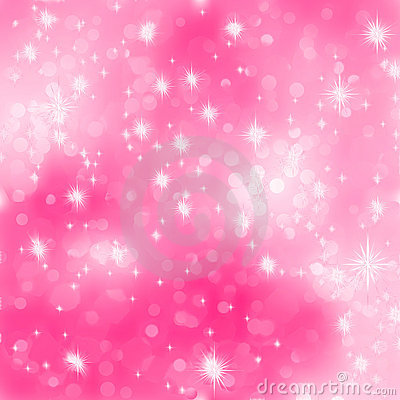 Pink abstract romantic with stars. EPS 8
