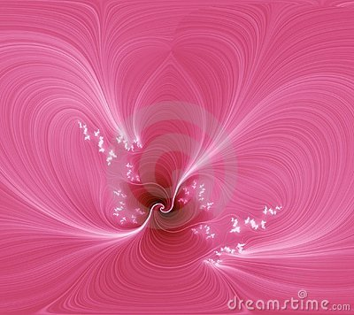Free Pink Abstraction Flower. Stock Image - 454241