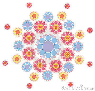 Free Pink And Purple Snowflake Royalty Free Stock Images - 3091079