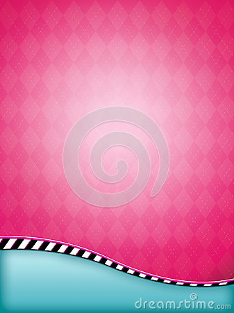 Pink Argyle Background