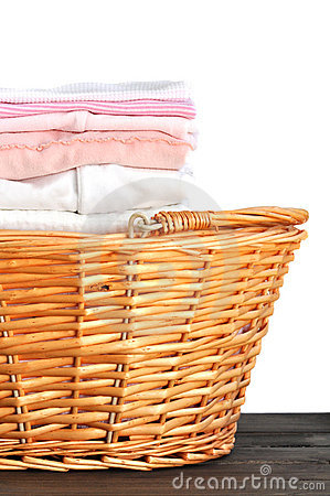 Pink Baby Laundry