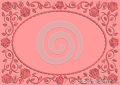 Pink background
