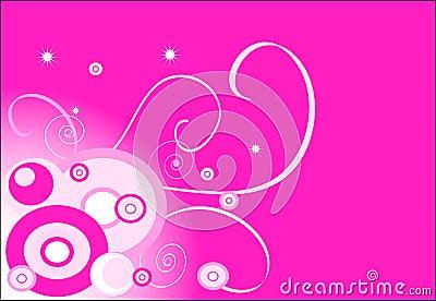 Pink background (circle)