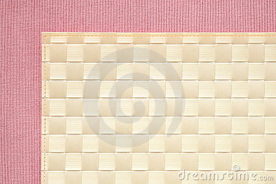 Pink background - tablecloth texture