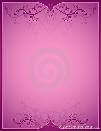 Pink background, vetor