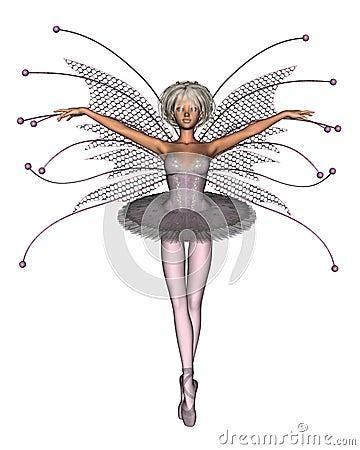 Pink Ballerina Fairy