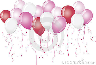 pink-balloons-floating-against