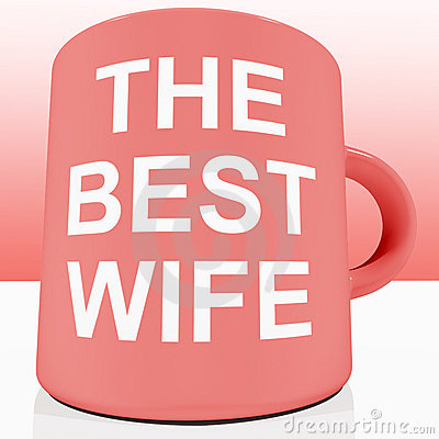 Pink Best Wife Mug
