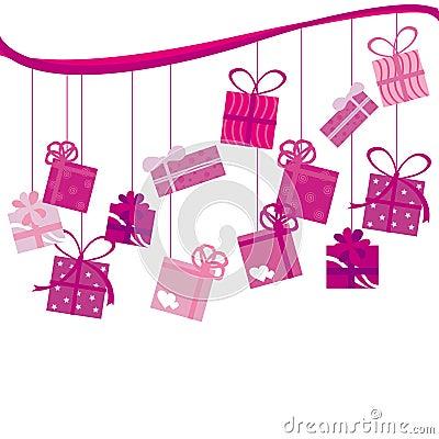 Pink Birthday present