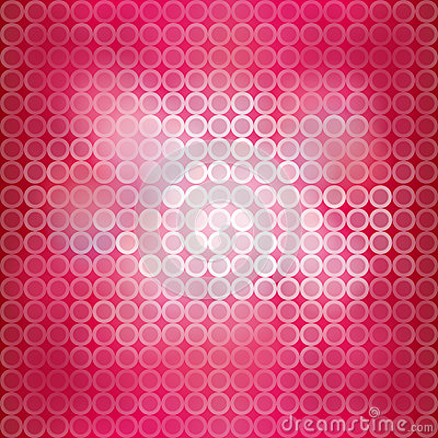 Pink blinking light background