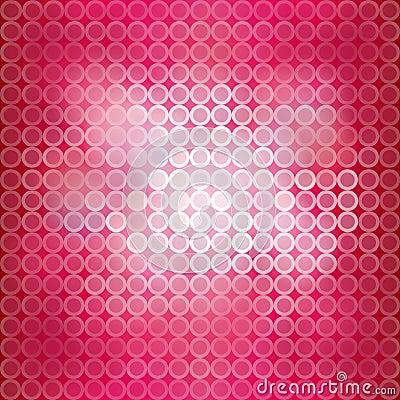 Pink blinking light background