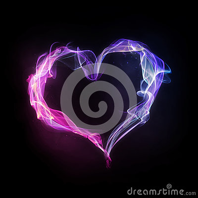 Pink And Blue Heart Stock Photos - Image: 33131893   400 x 400 jpeg 33kB