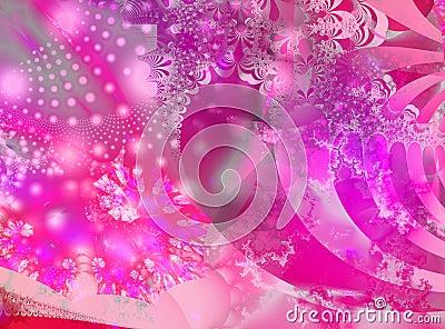 Pink bonanza fractal