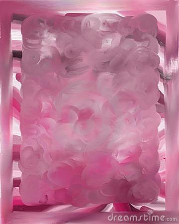 Pink bordered background