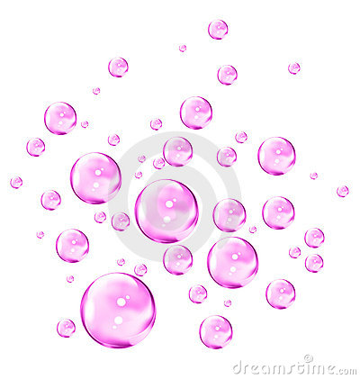 Free Pink Bubbles Stock Image - 4176481