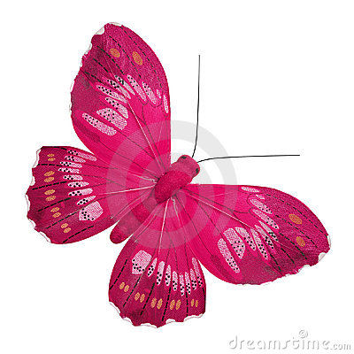 Free Pink Butterfly Royalty Free Stock Photos - 17762358