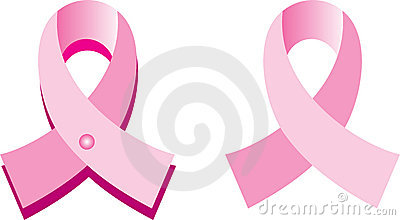 Pink Cancer Ribbons